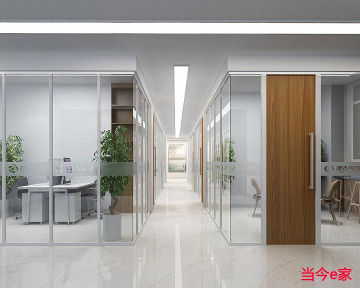 上海办公室装修效果图